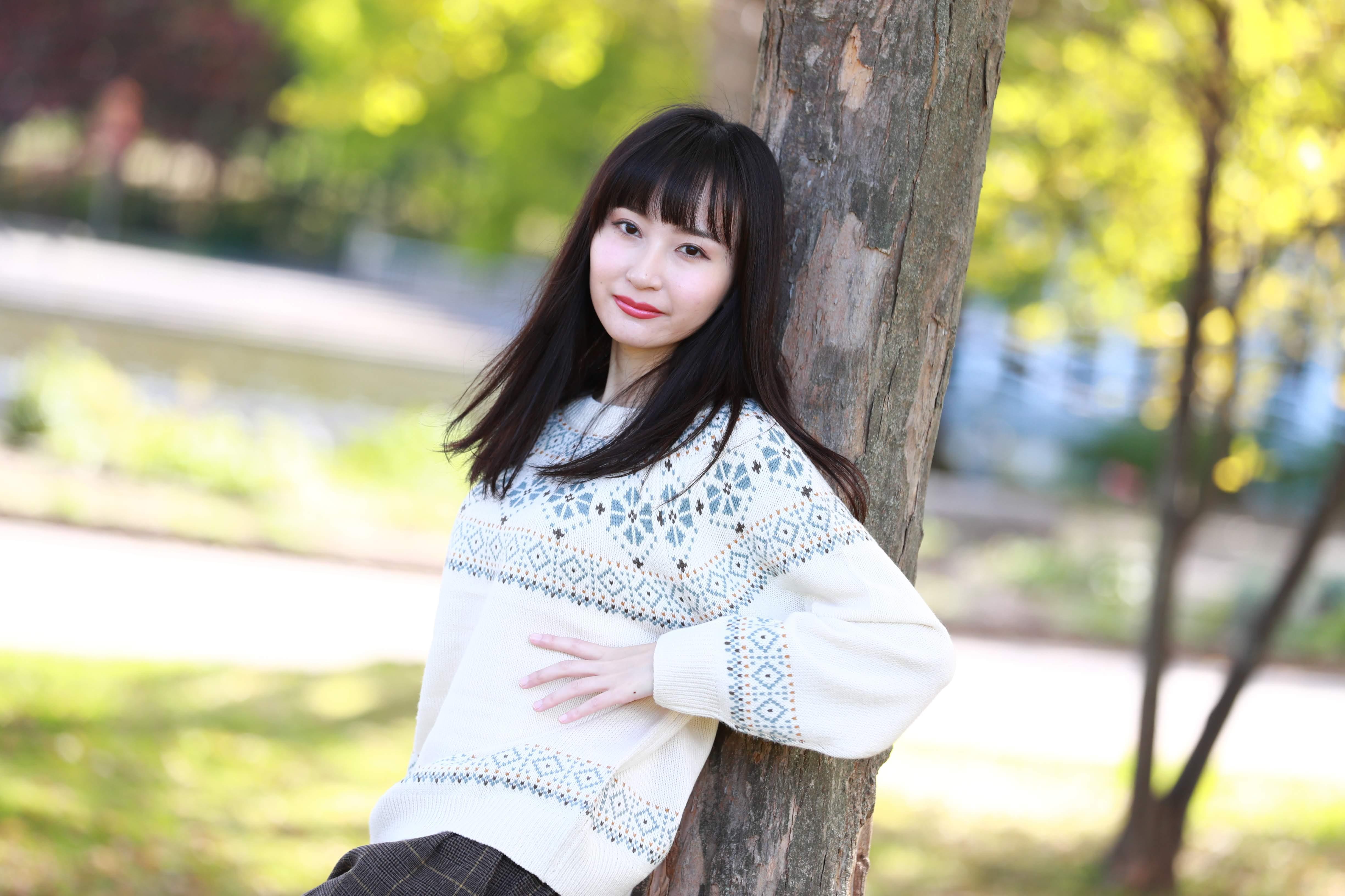 モデル山崎優花